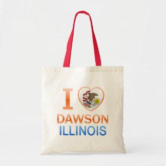 I Love Dawson, IL Bags