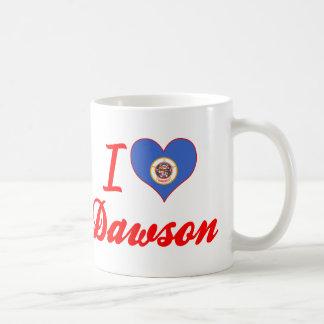 I Love Dawson, Minnesota Coffee Mugs