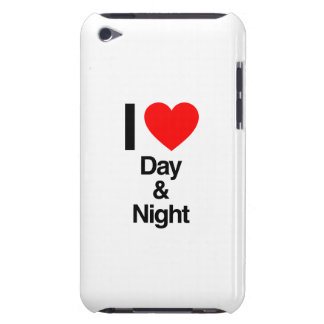 i love day and night barely there iPod cases