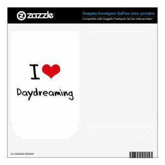 I Love Daydreaming FreeAgent GoFlex Decal