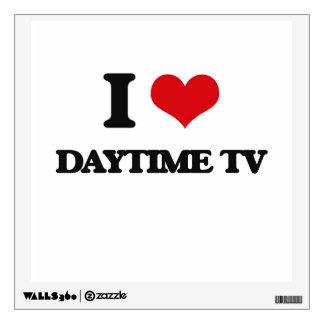 I love Daytime Tv Wall Sticker