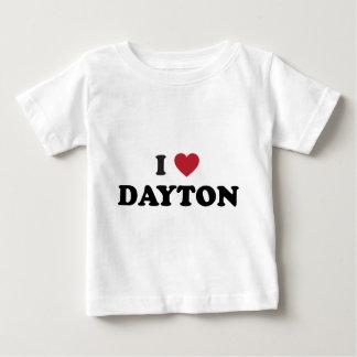 I Love Dayton Ohio Baby T-Shirt