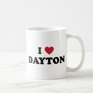I Love Dayton Ohio Coffee Mug