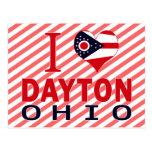 I love Dayton, Ohio Postcard