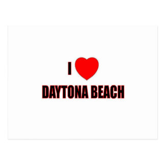 I Love Daytona Beach Postcard