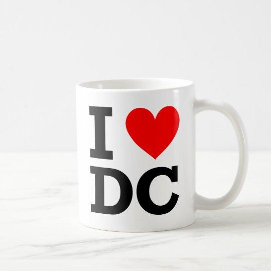 I Love DC Design Coffee Mug