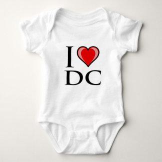 I Love DC - District of Columbia Baby Bodysuit