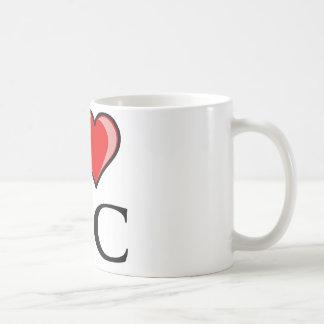 I Love DC - District of Columbia Coffee Mug