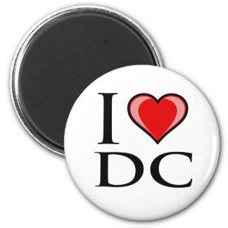 I Love DC - District of Columbia Fridge Magnet