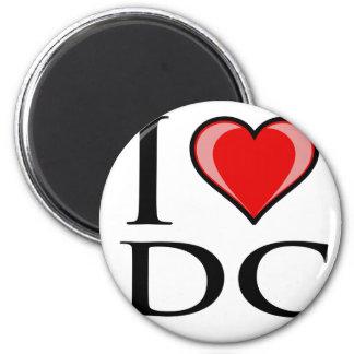 I Love DC - District of Columbia Fridge Magnets