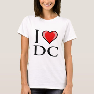 I Love DC - District of Columbia T-Shirt