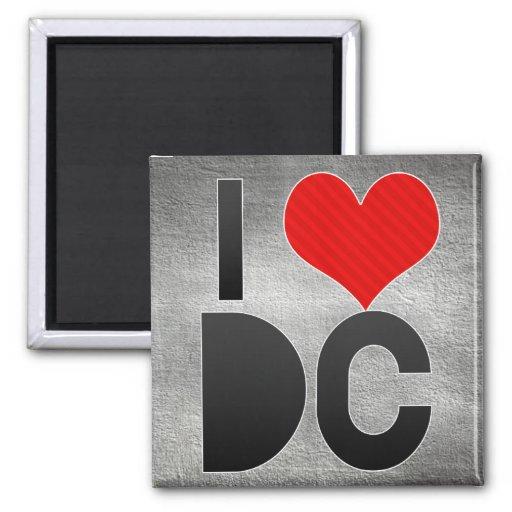 I Love DC Fridge Magnets