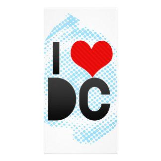 I Love DC Photo Card