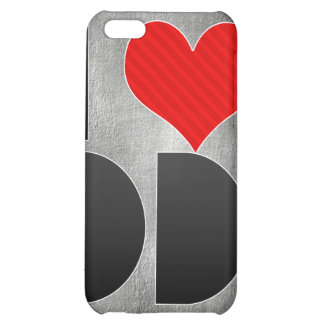 I Love DD Cover For iPhone 5C