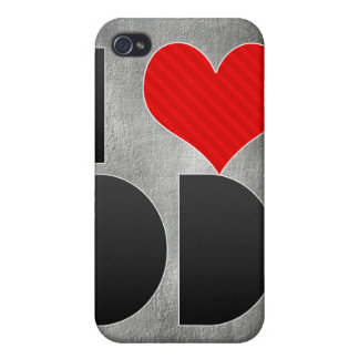 I Love DD Covers For iPhone 4