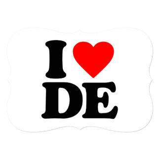 I LOVE DE CARD