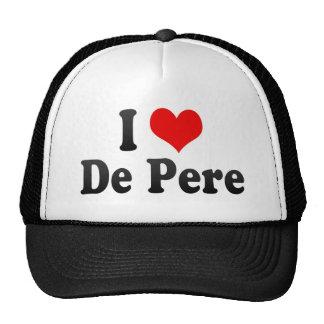 I Love De Pere, United States Trucker Hat