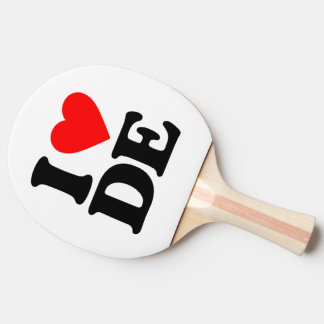 I LOVE DE Ping-Pong PADDLE