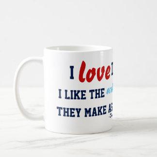 I Love Deadlines Mug