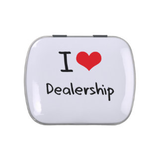 I Love Dealership Jelly Belly Candy Tins