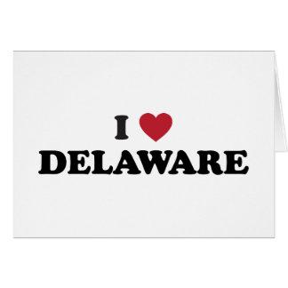 I Love Dealware Greeting Card