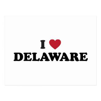 I Love Dealware Post Card