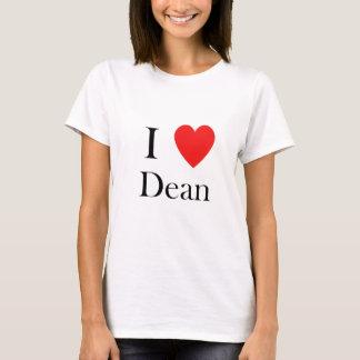 i love dean heart T-Shirt