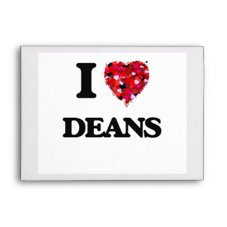 I love Deans Envelopes