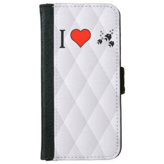 I Love Deap See Animals iPhone 6 Wallet Case