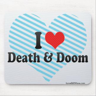 I Love Death & Doom Mouse Pad