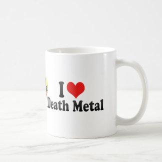 I Love Death Metal Classic White Coffee Mug