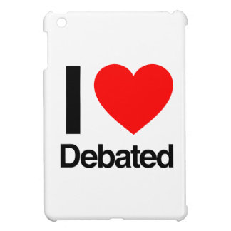i love debated iPad mini cases