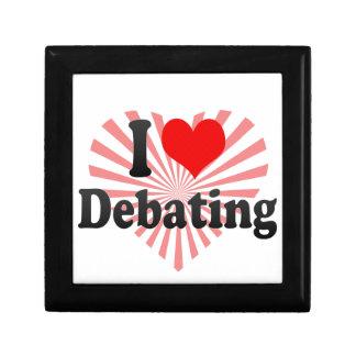 I love Debating Jewelry Box