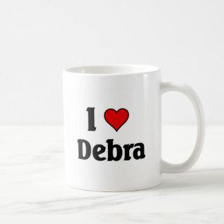 I love Debra Coffee Mug