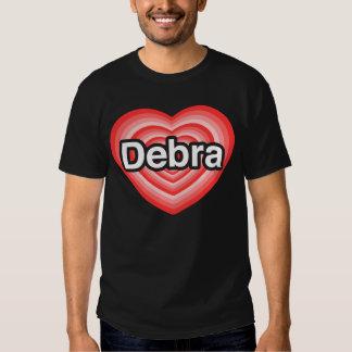I love Debra. I love you Debra. Heart Tee Shirt