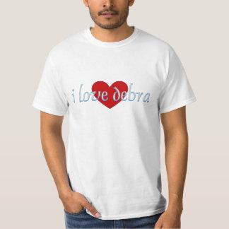 I love debra t-shirt