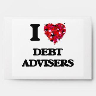 I love Debt Advisers Envelope