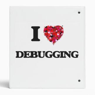 I love Debugging Vinyl Binder