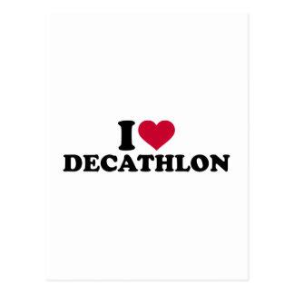 I love Decathlon Postcard