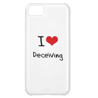 I Love Deceiving Case For iPhone 5C