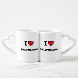 I love Deciphering Couples' Coffee Mug Set