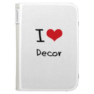 I Love Decor Case For Kindle