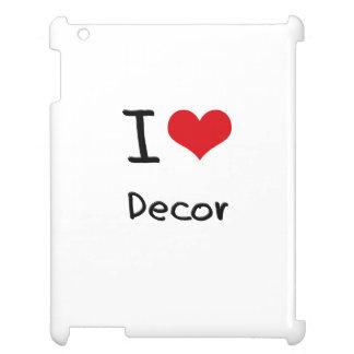 I Love Decor iPad Case
