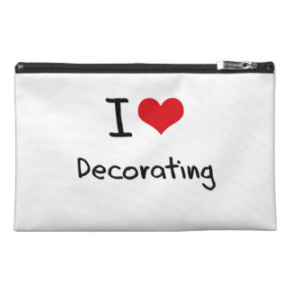 I Love Decorating Travel Accessories Bag