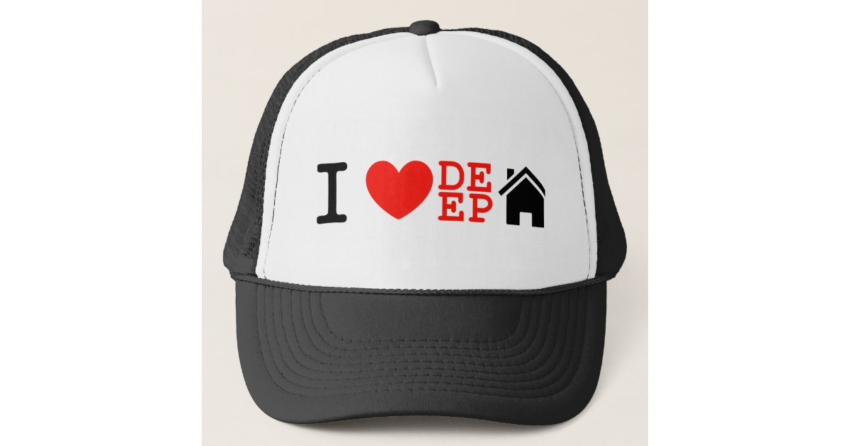 deep crown baseball hats caps high love house music cap