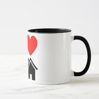 i love deep house music dj cup or mug