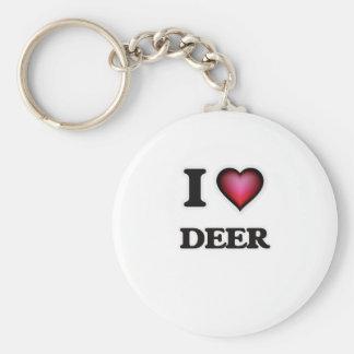I love Deer Keychain