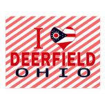 I love Deerfield, Ohio Post Cards