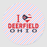 I love Deerfield, Ohio Sticker