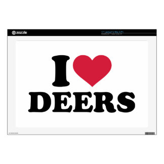 I love deers laptop skins